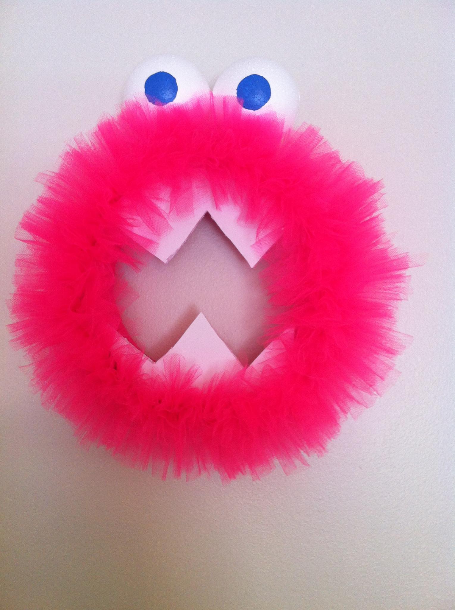 pink monster halloween